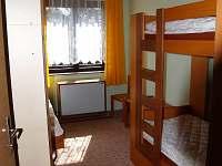 druhý pokoj 3 lůžka (byt č.2)