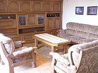 Obývací pokoj - chalupa ubytování Kukle