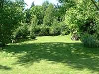 Zahrada - pronájem chalupy Písečné