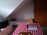 Pokoj č.1- Dvou lůžkový s přistýlkou, kuchyňským koutem a vlastní koupelnou - Hamr