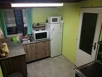 kuchyň - chata ubytování Dobronice u Bechyně