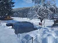 V zimě - Újezdec