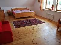 Apartmán Láska malá ložnice - pronájem Klec