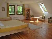 apartmán Naděje velká ložnice - pronájem Klec