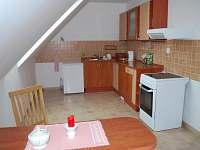 Láska kuchyně - apartmán k pronajmutí Klec