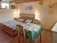 Pokoj č.1 - ubytování Lhota u Dynína