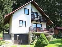 Chata k pronajmutí - dovolená  Žárský rybník rekreace Děkanské Skaliny