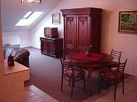 Interiér - apartmán ubytování Lišov