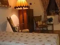 Apartmán č.1 - 2lůžkový pokoj - chalupa k pronajmutí Lutová