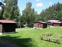 ubytování na Českokrumlovsku Chatky na horách - Horní Planá