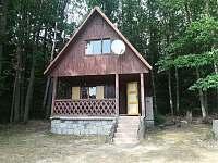 Chata k pronájmu - dovolená  Dolní Žišpašský rybník rekreace Člunek