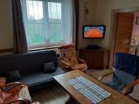 TV v obýváku - chalupa k pronájmu Turovec