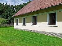 Zahrada za chalupou - ubytování Turovec