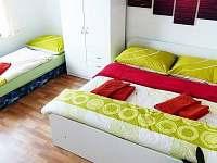 Pokoj č.3 - pronájem rekreačního domu Třeboň
