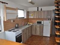 Kuchyně - chata ubytování Planá nad Lužnicí