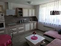 Kuchyň s posezením apartmán číslo 2 - pronájem Stříbřec