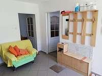 Úhel pohledu na předsíň apartmánu číslo 2 - Stříbřec