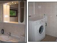 Koupelna - pračka volně k dispozici