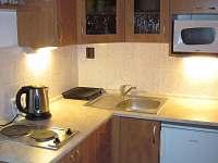 Kuchyně - pronájem chalupy Rožmberk nad Vltavou