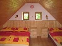 Ložnice 1 - chalupa ubytování Rožmberk nad Vltavou