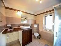 apartmán - koupelna s WC - Třeboň