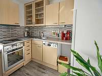apartmán - kuchyňský kout - pronájem rekreačního domu Třeboň