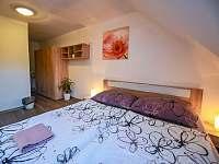 apartmán - ložnice - rekreační dům k pronajmutí Třeboň