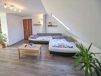 apartmán - možnost rozložení gauče - Třeboň