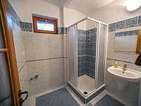 koupelna v přízemí - pronájem rekreačního domu Třeboň