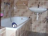 koupelna - chata k pronajmutí Vodňany