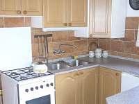 kuchyně - chata k pronajmutí Vodňany