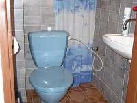 WC - chata k pronájmu Vodňany