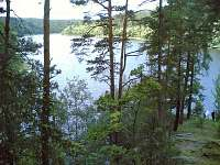 Orlické jezero pod kostekem sv. Jana Křtitele u Chřešťovic - cca 4km autem - Dobešice
