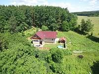 Z výšky - rekreační dům k pronájmu Turovec
