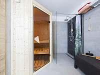 Lipno - studio - sauna welness - apartmán k pronájmu