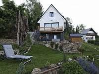 lipno - studio - zahrada a posezení 2 - apartmán ubytování Lipno nad Vltavou - Kobylnice