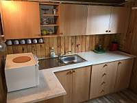 Kuchyň - chata k pronájmu Lipno nad Vltavou - Kobylnice