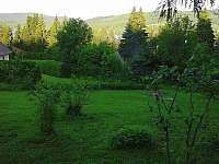 Před chatou - k pronájmu Lipno nad Vltavou - Kobylnice