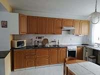 Kuchyně - chata ubytování Mláka