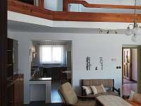 Společenská místnost - chata ubytování Mláka