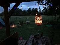 noční atmosféra - pronájem chaty Vodňany