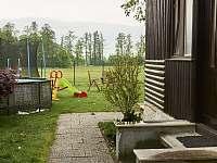 pohled na hlavní vchod do chaty - Vodňany