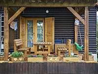 terasa - chata ubytování Vodňany