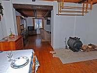 Lipno chata - jídelna - ubytování Pernek - Hory