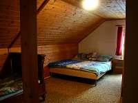 Lipno chata - Ložnice II - pronájem Pernek - Hory