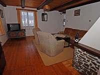 Lipno chata - obývák