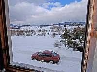 Lipno chata - pohled z okna II