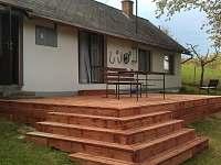 Nově zbudovaná terasa