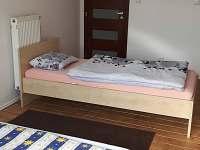 Ložnice v přízemí - rekreační dům ubytování Týn nad Vltavou