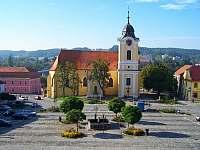 Náměstí Týn nad Vltavou - rekreační dům k pronájmu
